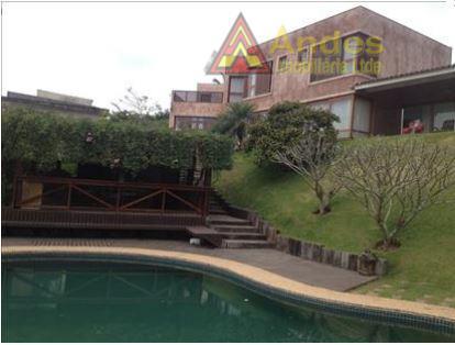 Sobrado residencial à venda, Serra da Cantareira, Mairiporã.