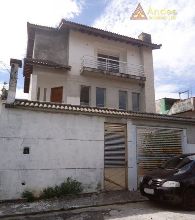 Sobrado residencial à venda, Vila Irmãos Arnoni, São Paulo - SO0864.