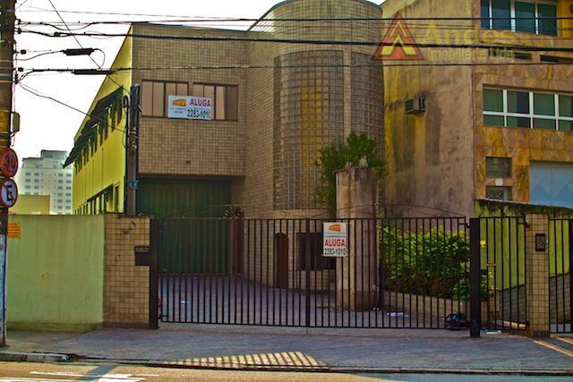 Prédio comercial para locação, Santa Terezinha, São Paulo.