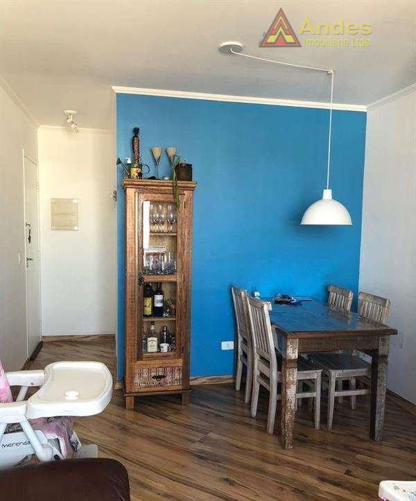 Apartamento com 3 dormitórios à venda, 55 m² por R$ 320.000 - Vila Basileia - São Paulo/SP