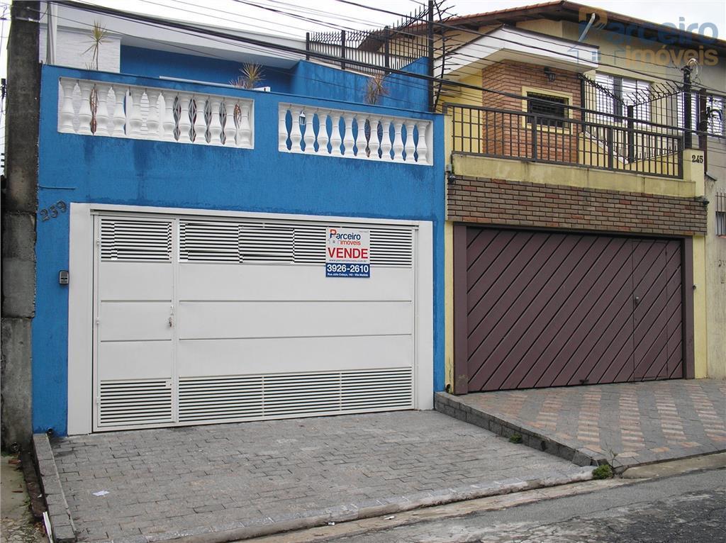 Sobrado residencial à venda, Jardim Fernandes, São Paulo.