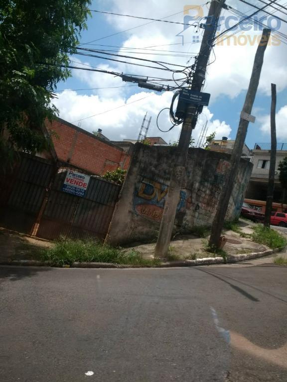 Terreno à venda, 340 m² por R$ 450.000 - Jardim Etelvina - São Paulo/SP