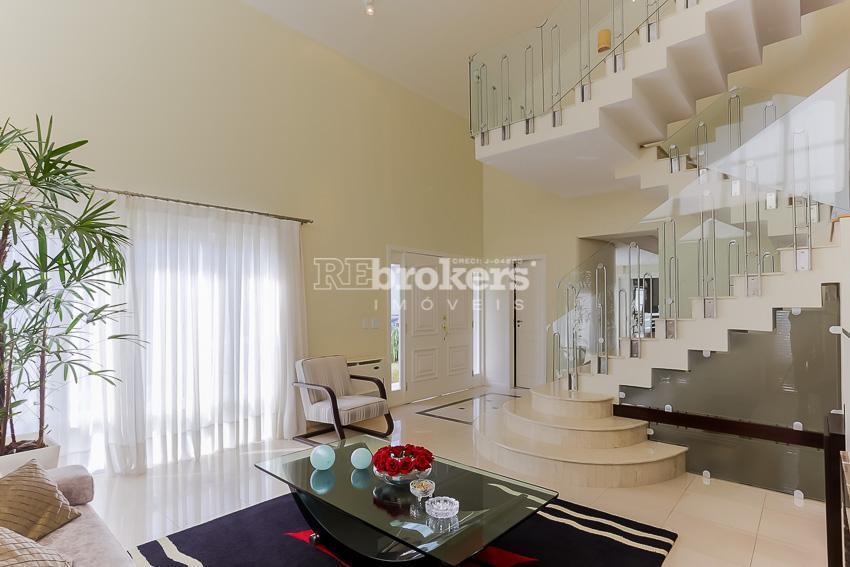 Casa condomínio fechado, 4 suítes, 3 vagas, piscina, espaço gourmet, Campo Comprido, REbrokers Imóveis