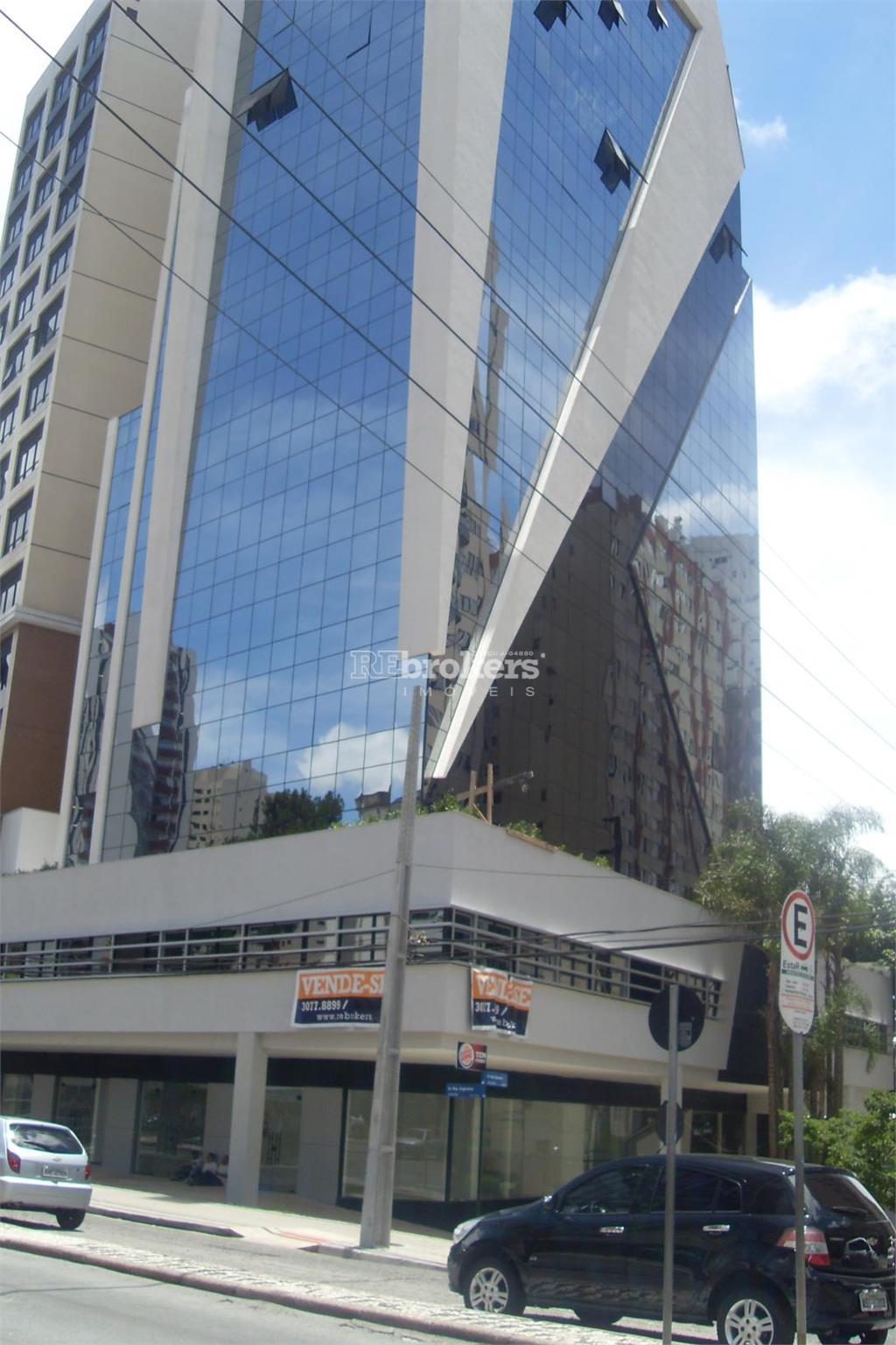 Conjunto comercial para locação, 54m2, Água Verde, Curitiba, REbrokers