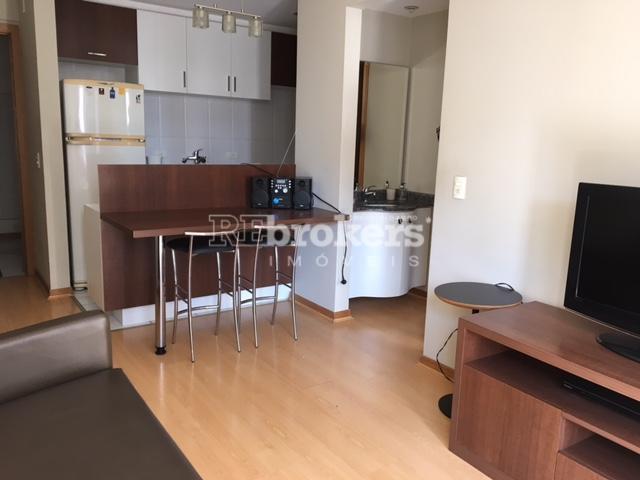Apartamento mobiliado, completo para locação, Champagnat, REbrokers
