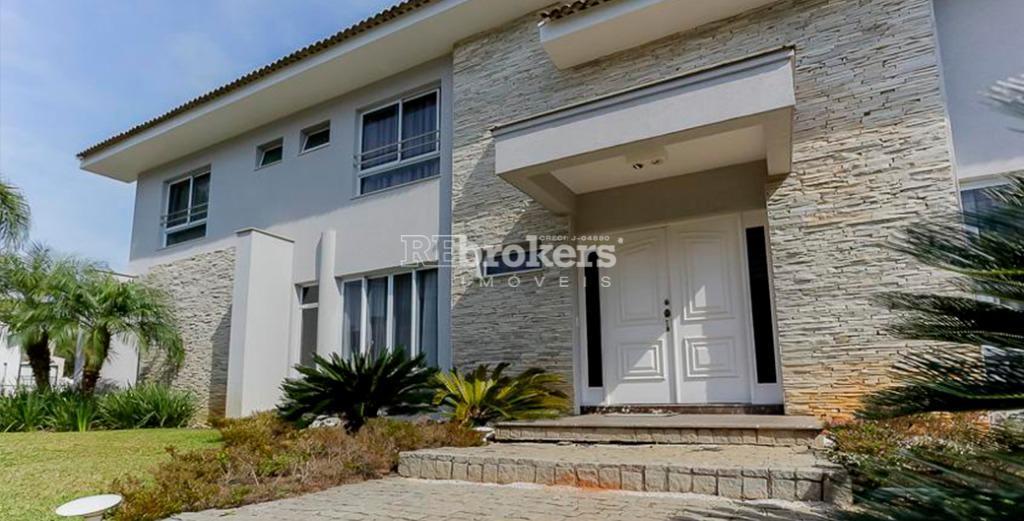 Casa em condomínio fechado, 4 suítes, 3 vagas, piscina, espaço gourmet, Campo Comprido, Curitiba, REbrokers Imóveis