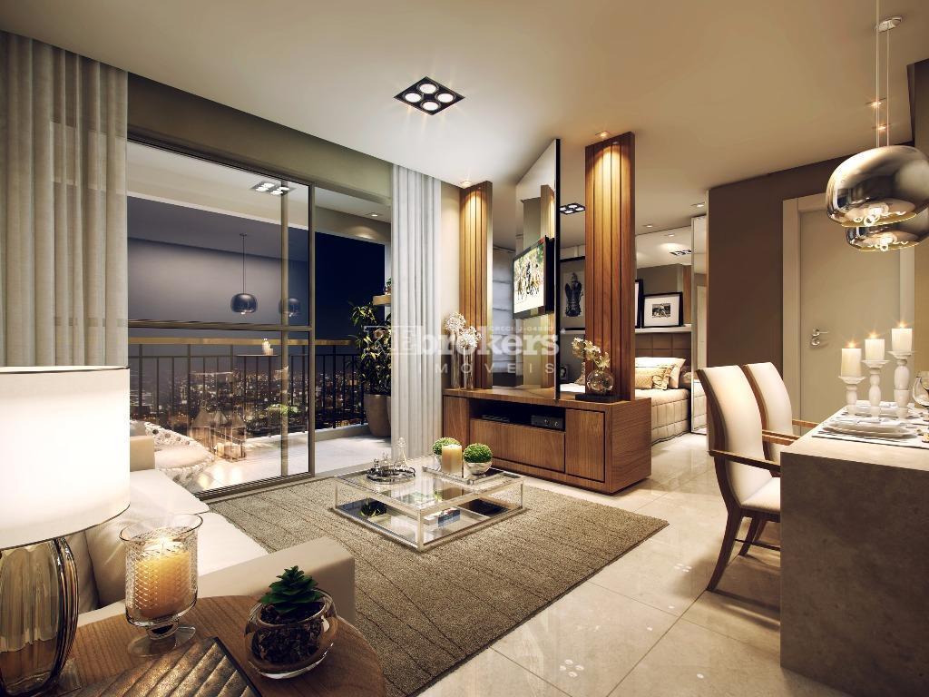 Apartamento Studio VENDA  e LOCAÇÃO, 1 quarto, 1 vaga, Batel, REbrokers