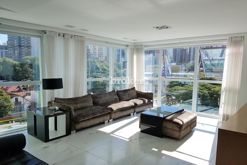 REbrokers - Apartamento mobiliado 3 suítes, 4 vagas, Água Verde, Curitiba.