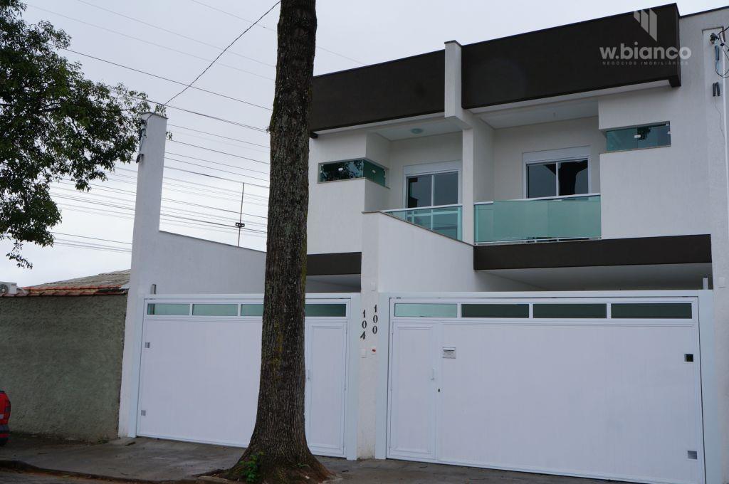 Sobrado residencial à venda, Vila Pinheirinho, Santo André.