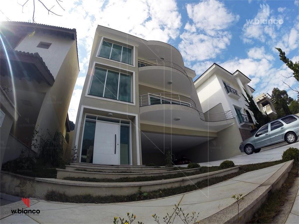 Casa  Alto Padrão, condomínio Roland Garros à venda, Jardim Hollywood, São Bernardo do Campo, 4 suites, 6 vagas -CA0205 #WBIANCO