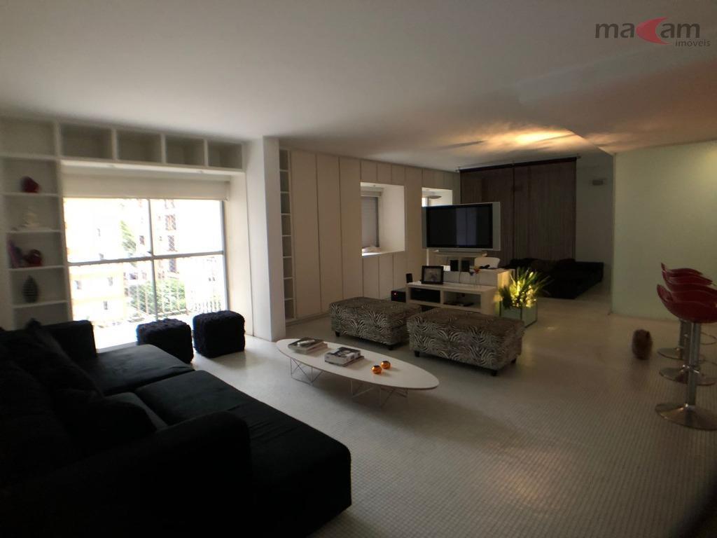 Apartamento residencial para locação, Jardins, São Paulo.