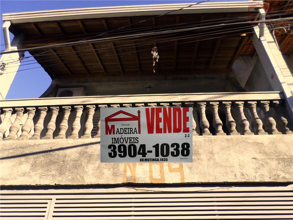 Sobrado  residencial à venda, Conjunto Habitacional Turística, São Paulo.