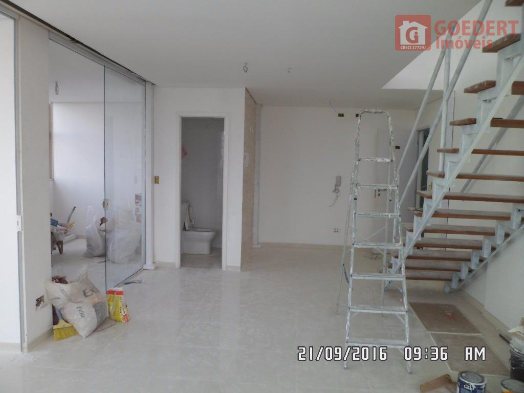 Sala Comercial NOVA - Com mezanino - Pé-Direito Duplo - 118m²