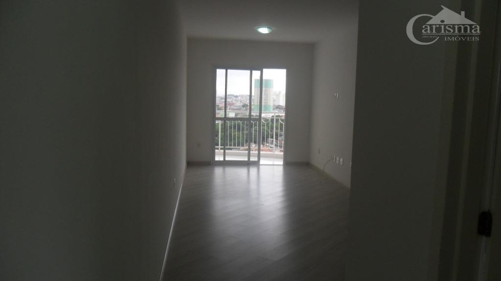 Apartamento  residencial para locação, Vila Valparaíso, Santo André.
