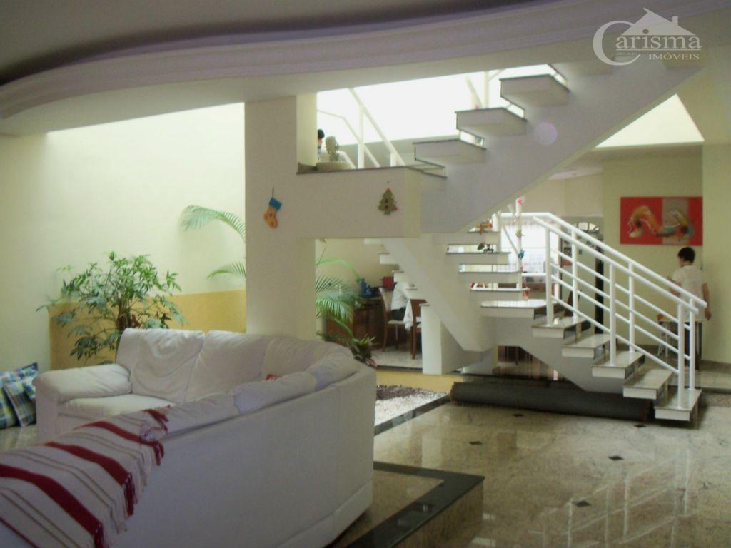 Sobrado residencial à venda, Vila Scarpelli, Santo André - SO0063.