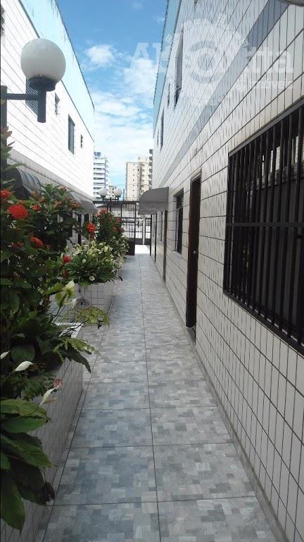 Sobrado residencial à venda, Campo da Aviação, Praia Grande.