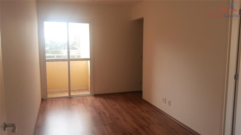 Apartamento com 50 m², 2 dormitórios e uma vaga