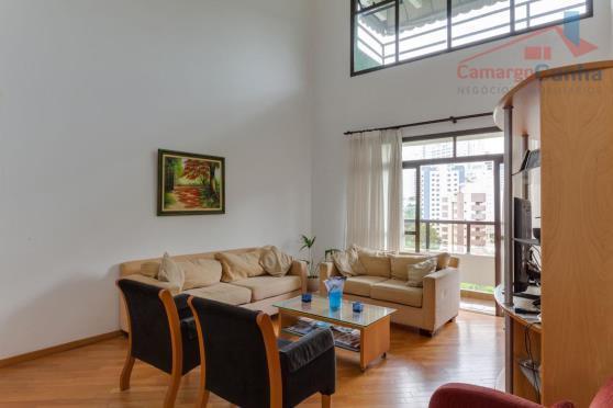 ) Belíssima cobertura duplex com 253 metros, 5 dormitórios e 4 vagas.