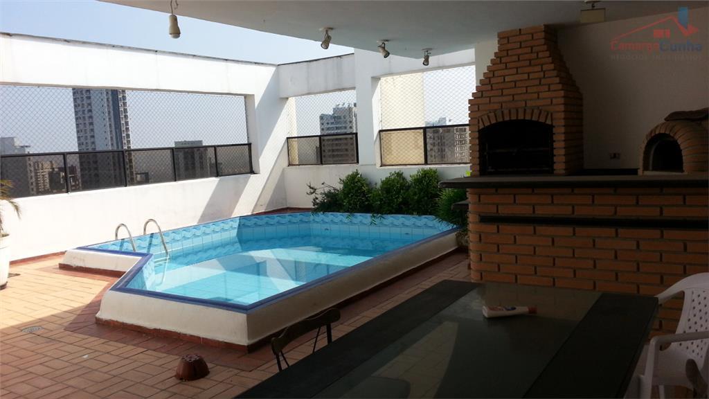 excelente cobertura com 366 metros, 3 suítes, 3 vagas, piscina na cobertura, sala de cinema, 3...