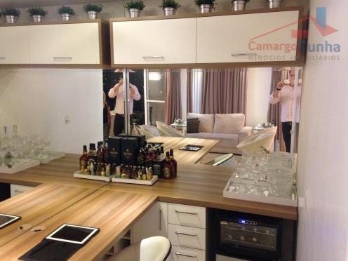 - Apartamento lindo com 87 metros, 02 dormitórios sendo 02 suítes, 02 vagas de garagem.