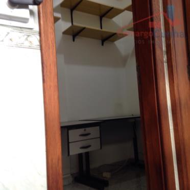 excelente apartamento, com 72 m² com 02 dormitórios, imóvel repleto de armários. quarto/wc empregada, sala de...