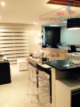 excelente apartamento com 75 m²; 02 vagas, 03 dormitórios (1 suíte), lavabo; área de serviço com...