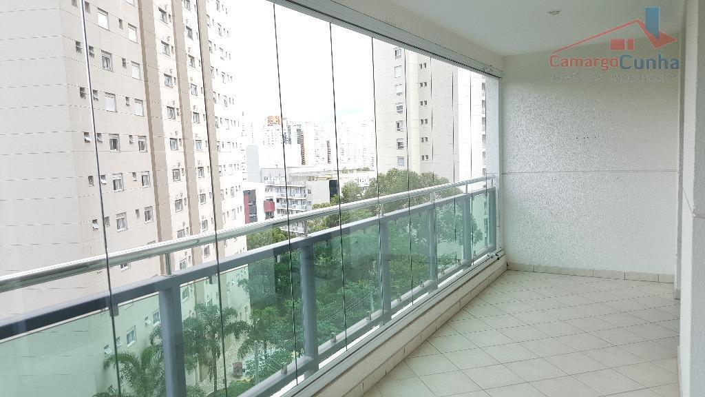 belíssimo apartamento com 131 metros, elevador privativo, 3 suítes, sala para 3 ambientes, cozinha integrada com...