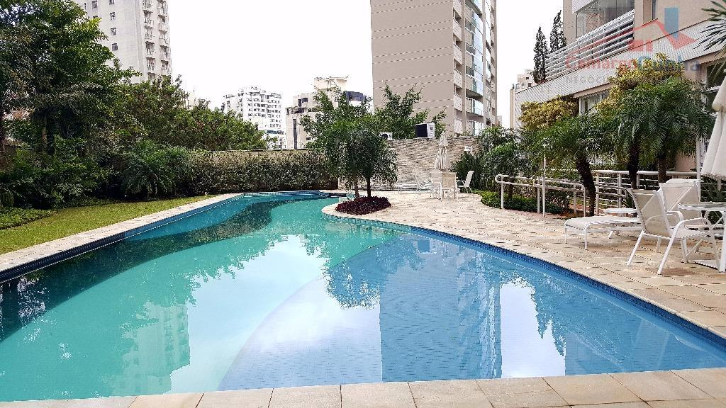 condomínio eleganz platz235 m2 - morumbi.belíssimo apartamento com 4 suítes com ar condicionado, sala de almoço...