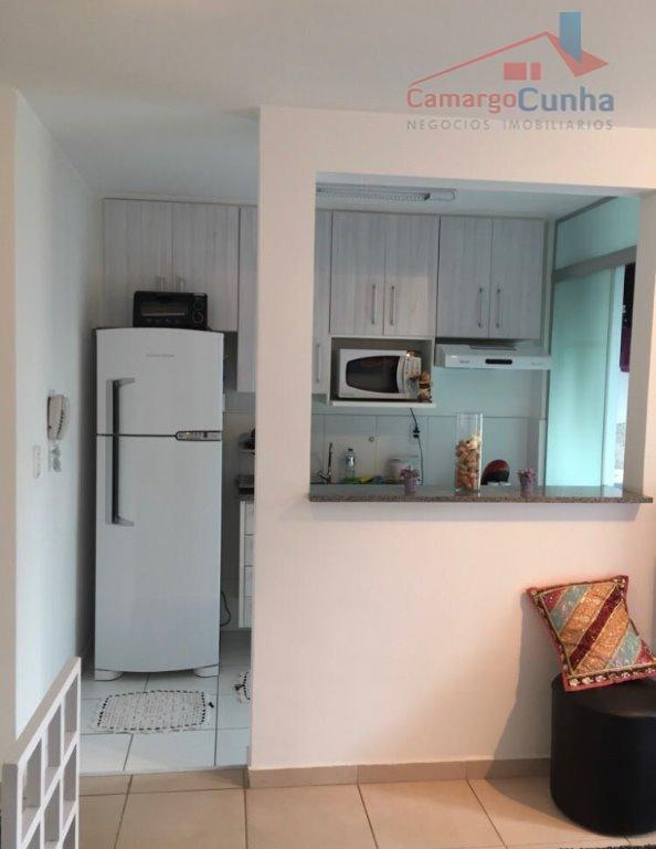 apartamento com 48 m², possui dois dormitórios e uma vaga de garagem.lazer completo: children care, churrasqueira,...