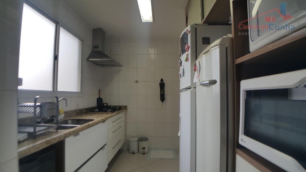 belíssimo apartamento com 118 metros, 3 suítes e 2 vagas. incrível área de lazer. terreno com...