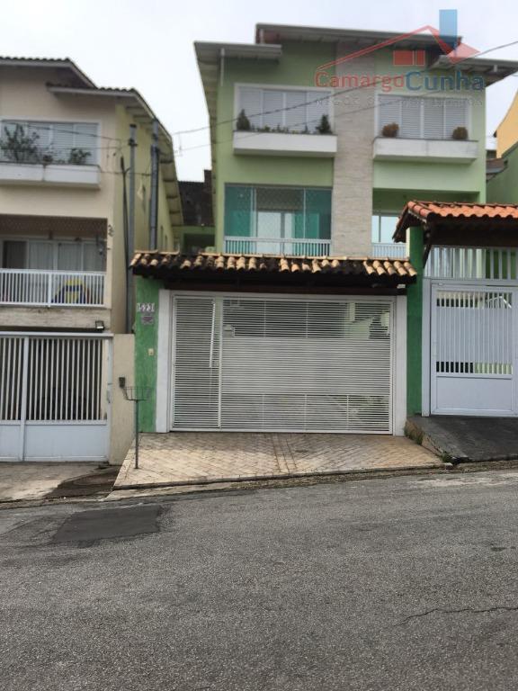 Casa residencial à venda, Parque Monte Alegre, Taboão da Serra - CA0029.