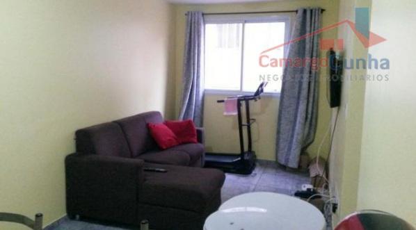Oportunidade!!! Apartamento com 45 metros, 2 dormitórios e uma vaga