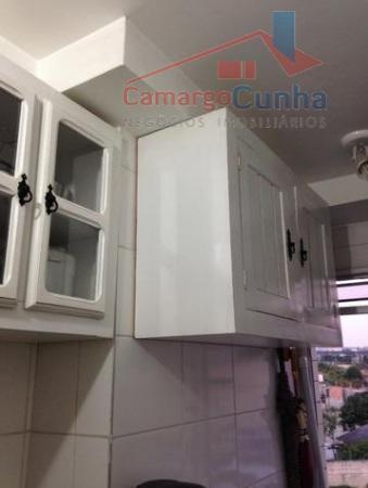 apartamento com 47 m², possui 2 dormitórios e 1 vaga de garagem, sala com dois ambientes,...