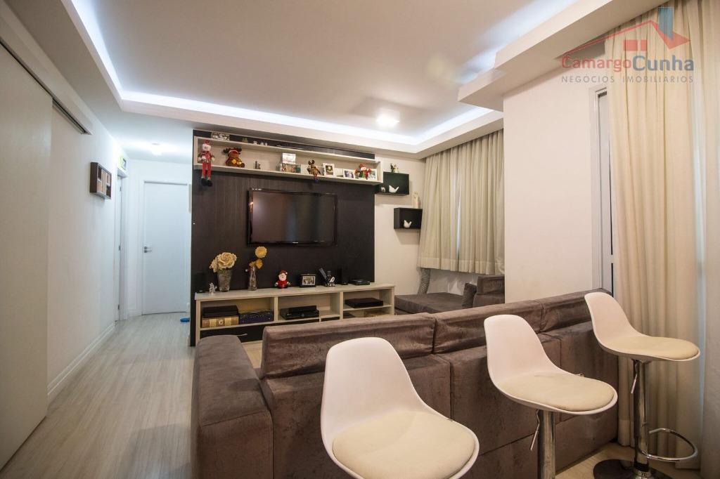 Lindo Apartamento com 96 metros, 3 dormitórios sendo 1 suíte e 2 vagas