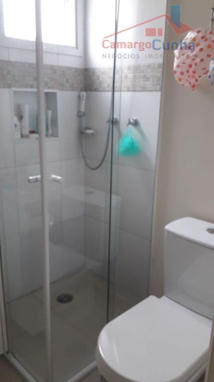 lindo apartamento com 64 m², possui 2 dormitórios sendo 1 suíte e 2 vagas de garagem,...