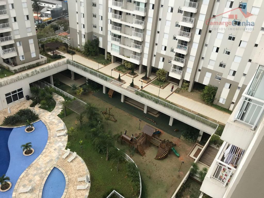 Cobertura Duplex com 170 metros, 02 dormitórios sendo 01 suíte e 03 vagas.