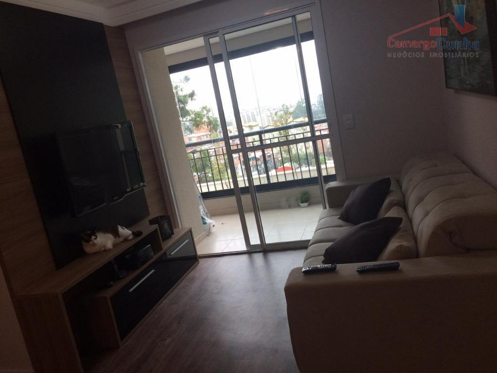 apartamento com 70 m², possui 3 dormitórios sendo 1 suíte e 1 vaga de garagem, sala...