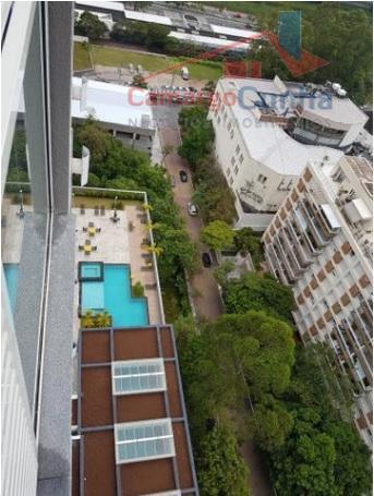 Apartamento com 57 metros, 2 dormitórios e 1 vaga