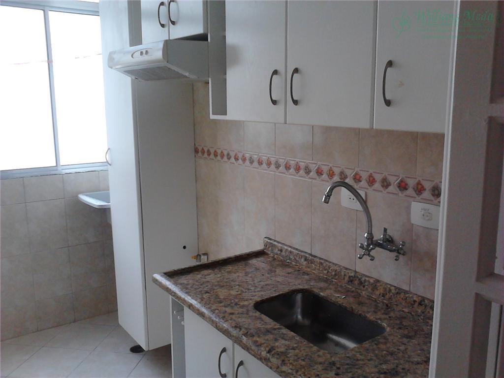 Apartamento com 2 dormitórios para alugar, 50 m² por R$ 900,00/mês - Vila Rio de Janeiro - Guarulhos/SP