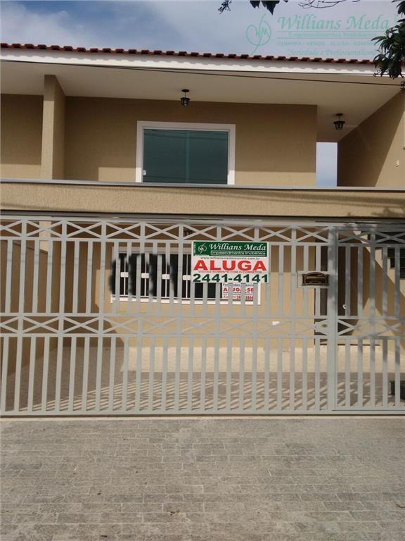 Casa com 3 dormitórios para alugar, 90 m² por R$ 1.600/mês - Jardim Santa Clara - Guarulhos/SP