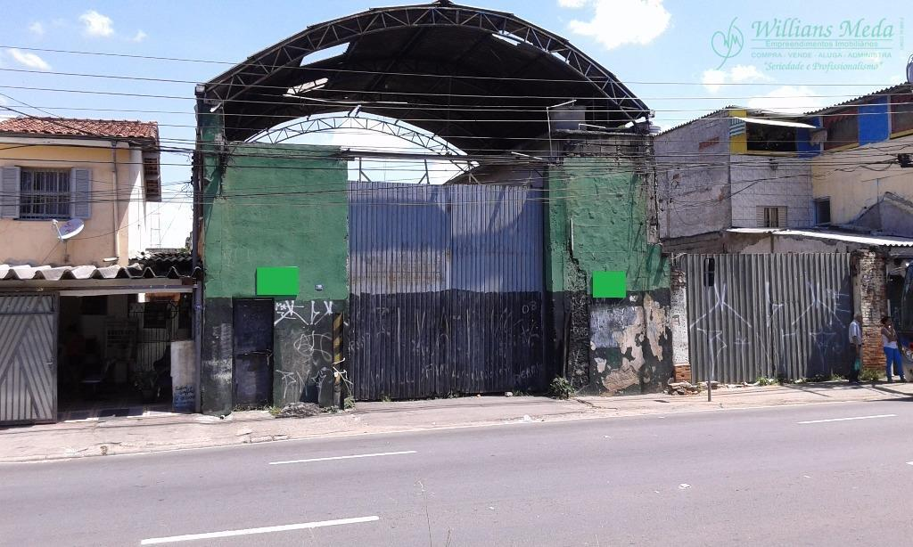 Terreno comercial para locação, Vila Galvão, Guarulhos - TE0107.