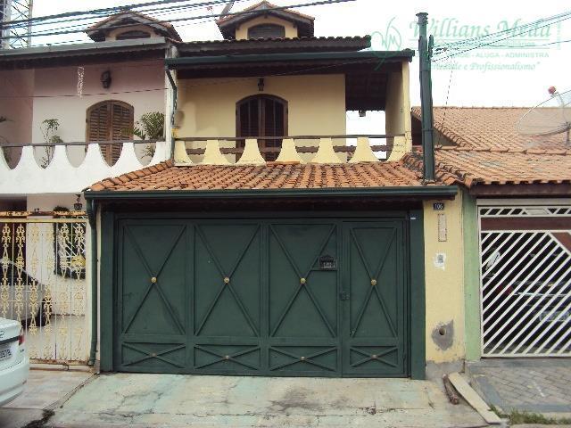 Sobrado residencial à venda, Jardim Toscana, Guarulhos - SO0793.
