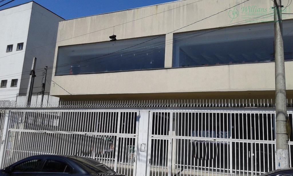 Salão  comercial para locação, Centro, Guarulhos.