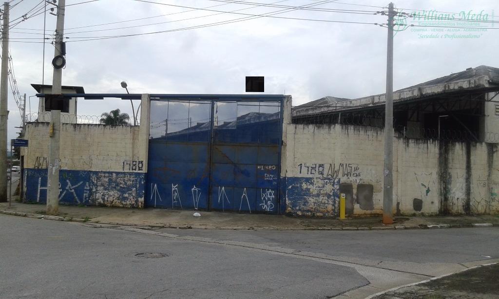 Galpão industrial para locação, Jardim Castanha, Guarulhos.