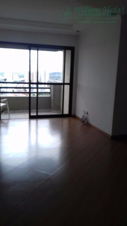 Apartamento com 3 dormitórios para alugar, 100 m² por R$ 2.000/mês - Vila Tijuco - Guarulhos/SP