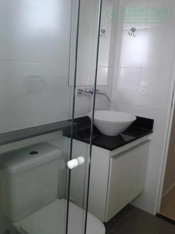 Apartamento  residencial para locação, Vila Augusta, Guarulh