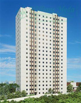 Apartamento  residencial para locação, Vila Rio de Janeiro, Guarulhos.