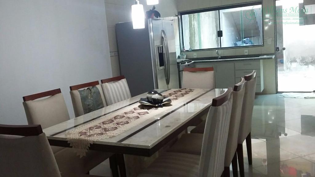 Casa com 3 dormitórios à venda, 213 m² por R$ 700.000 - Picanco - Guarulhos/SP