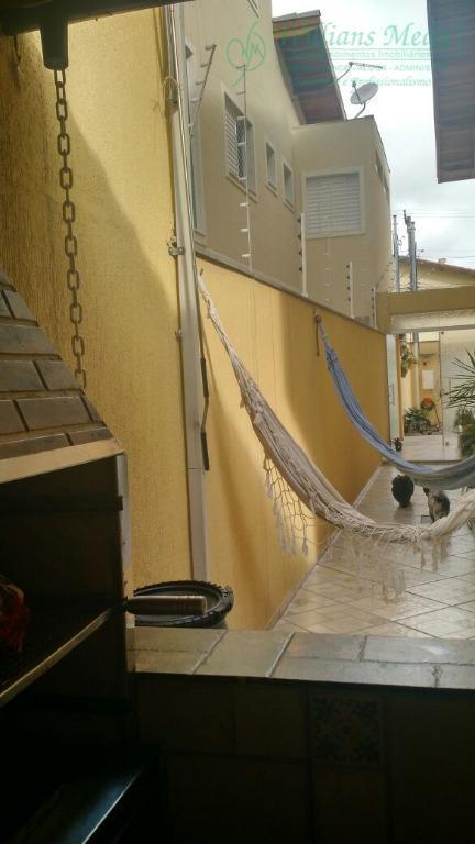 Sobrado residencial à venda, Jardim Santa Clara, Guarulhos -