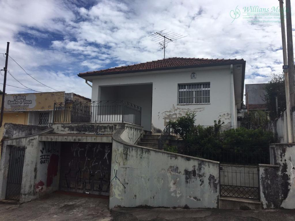 Terreno residencial à venda, Vila Milton, Guarulhos.